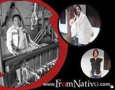 Visit us in www.FromNativo.com to find this beautiful bags and scarfs // Visitanos en www.FromNativo.com para encontrar más de estos hermosos bolsos y bufandas.