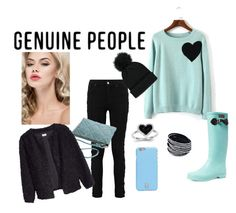 """""""GENUINE-PEOPLE"""" by aa-fashion-girls ❤ liked on Polyvore featuring Kevin Jewelers, Forever 21, Aigle and Tory Burch"""