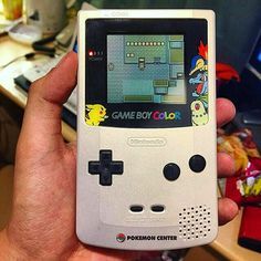 By retrogamesqld: Pokemon Center Gameboy Color!  Credit to @l00scr3w  #retro #retrogaming #vintagegaming #gaming #gamers #snes #nes #nintendo #supernintendo #gameboy #retrogamers #gamingporn #ninstagram #gameboy #retrogaming #microhobbit