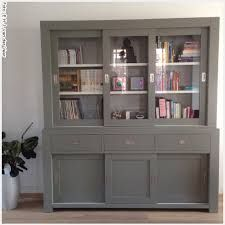 buffetkast grijs - Google zoeken Cupboard Design, Next At Home, Upcycled Furniture, Ikea Hack, China Cabinet, My Dream Home, Home And Living, Bookcase, Sweet Home