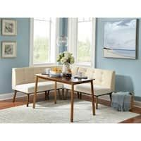 Shop for Simple Living 4 piece Playmate Nook Dining Set. Get free delivery at Overstock - Your Online Furniture Shop! Get in rewards with Club O! Nook Dining Set, Dining Room Bar, Dining Area, Furniture Deals, Bar Furniture, Online Furniture, Living Room Sofa, Living Room Furniture, Apartment Living