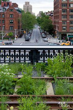 O JARDIM SUSPENSO DE NOVA YORK - ANUAL DESIGN