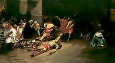 The Spoliarium is a painting by Filipino artist Juan Luna. The painting was submitted by Luna to the Exposición Nacional de Bellas Artes in where it garnered a gold medal. Arte Filipino, Philippines Culture, Manila Philippines, Philippine Art, Old World Charm, National Museum, New Artists, Art History, Roman History