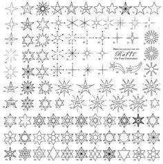 Si quieres saber cómo hacer un tatuaje de estrellas, aquí encontrarás muchos motivos de estrellas diferentes, para emplear de base en tu propio diseño para tatuajes de henna. Los dibujos de estrellas son bastante simples y pueden ser una buena opción para incursionar en la aplicación de tatuajes temporales.