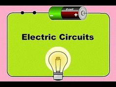 Parallel and Series Resistor Circuit Analysis Worked Example using Ohm& Law. Parallel and Series Resistor Circuit Analysis Worked Example using Ohm& Law Reduction Science Videos, Science Resources, Science Lessons, Science Activities, Science Projects, Science Experiments, Fourth Grade Science, Elementary Science, Science Classroom