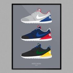 NEED MORE Roshe Run NM World Cup Pack (30x40cm)