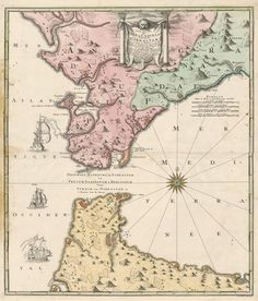 Large detailed map of Gibraltar | Maps | Pinterest