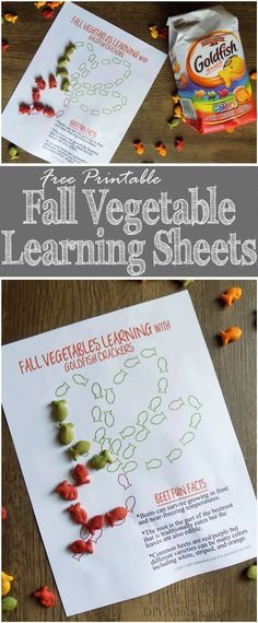 Get kids excited about their veggies with these free Fall Vegetable Learning Sheets. Theyll infuse snack time with fun facts, sorting skills, & color fun. Fall Vegetables, Veggies, Light Texture, Autumn Activities, Free Coloring, Kids Learning, Sorting, Free Printables, Fun Facts