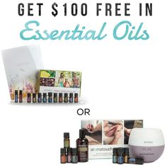 Get Started With Essential Oils  .  ONLY 2 DAYS LEFT TO GET... . $100 in FREE OILS  a FREE wholesale account from dōTERRA A welcome gift from me! . Contact me for the details via Facebook message marla@takechargemama or 480-319-5494 . Below is the information for the 2 kit choices pictured: . AROMATOUCH KIT . For $150 you will receive: .  Lavender  Balance OnGuard Melaleuca AromaTouch  Wild Orange  Peppermint Deep Blue . You will also receive a bottle of Fractionated Coconut Oil to dilute…