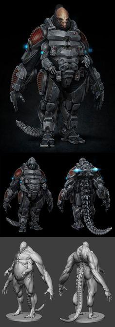 Mass Effect N7  Fan Art by Amdeewet