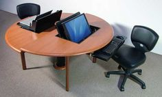 Computer work tables