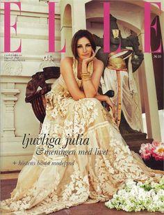 Julia Roberts: Elle Sweden October 2010 Cover | Sassi Sam Girlie Gossip Files
