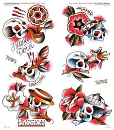 VK is the largest European social network with more than 100 million active users. Paradise Tattoo, Gangsta's Paradise, Traditional Flash, American Traditional, Old School Rose, Old School Tattoo Designs, Traditional Tattoo Design, Tattoo Flash Art, Desenho Tattoo