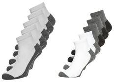 Calando Sport 5 Pack Calcetines De Deporte White Grey Melange calcetines white Sport 5 pack Melange Grey deporte Calcetines Calando Noe.Moda