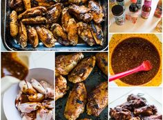 How to Make Wings: Honey Mango Party Wings (Appetizer) Recipe Raw Chicken, Basil Chicken, Chicken Wings, How To Make Wings, Party Wings, Non Stick Pan, Wing Recipes, Mango, Appetizers