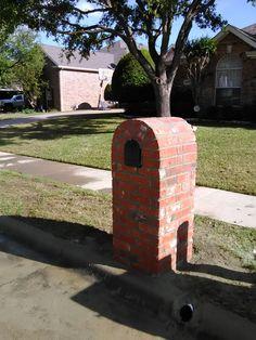 "Cast Aluminum Replacement Doors Mailboxes New 8/""Brick Stone Stucco Mailbox Door"