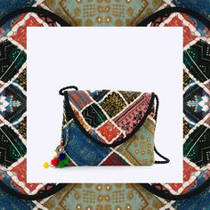This season is all about ethnic pattern!  #vilanovabag ref.1165