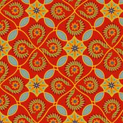"""@Sarah Light spoonflower.com. This collection has lots of """"Catalina Tile-ish"""" Patterns. Flor Feliz - Kitchen/Dining?"""