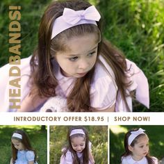 Every little girl needs a beautiful embroidered headband to go with her lovely dresses! These gorgeous Feltman Brothers headbands coordinate beautifully with all our girls bubbles and dresses and are up on our site with an introductory offer!  http://feltmanbrothers.com/hairband/