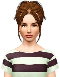 Skysims 228 hairstyle retextured by Pocket for Sims 3 - Sims Hairs - http://simshairs.com/skysims-228-hairstyle-retextured-by-pocket/