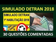 SIMULADO DO DETRAN 2017, PASSE NA PROVA DO DETRAN 2017, 30 QUESTÕES TEÓRICAS DA PROVA DO DETRAN - YouTube