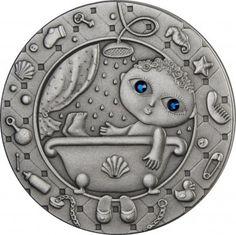 Srebrna Moneta - Wodnik, 20 rubli, Seria: Znaki zodiaku