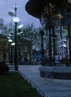 Streetlamps Lampelunas