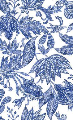 Fabric Wallpaper, Pattern Wallpaper, Flower Patterns, Print Patterns, Baroque Pattern, Batik Pattern, Indian Prints, Indian Patterns, Art Club