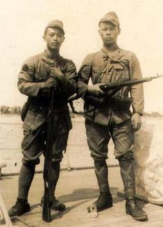 Elite Soldiers of Japanese Special Naval Landing Force China 1939