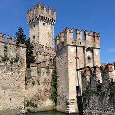 Castello di Sirmione nel Sirmione, Lombardia