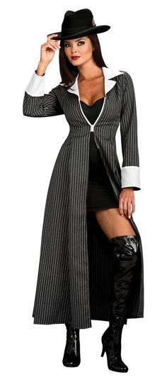 mobster women costumes | Adult Gangster Costume - Gangster and Mobster Costumes