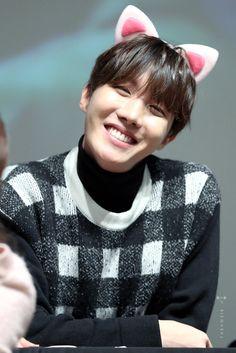LOOK AT THIS CUTE CAT OMGG   Jung Hoseok