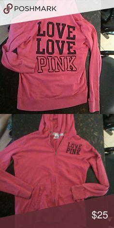 VS Hoodie PINK zip up hoodie Victoria's Secret Other