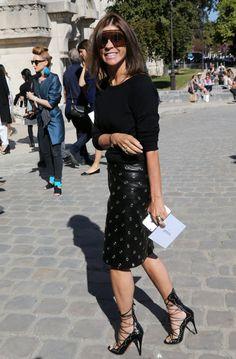 Pin for Later: Das sind die 21 am besten gekleideten Frauen der Fashion Week Carine Roitfeld