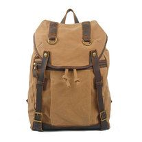 Please provide mobile phone number for delivery company, thanks  Perfect match with the canvas and the leather.  Color: Camel // Blue // Green  Size: 30cm(W) x 17cm(D) x 46cm(L)   Material: 20 Oz Washed Canvas  See also: http://whatleather.storenvy.com/