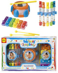 """There are enough """"instruments"""" in this package for an entire orchestra.   Tub Tunes - Alex Toys » Tub Tunes Symphony"""