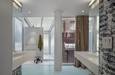 Sexy urban loft with a seductive catwalk