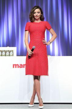 Miranda Kerr in Azzedine Alaia doing press in Tokyo. Miranda Kerr 2016, Miranda Kerr Style, Daily Fashion, Fashion Beauty, Womens Fashion, Caroline Issa, Azzedine Alaia, Victoria Secret Fashion Show, Celebrity Look