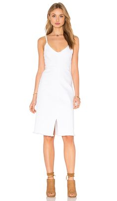 Shop for LACAUSA Lucile Dress in White Wash at REVOLVE. Free 2-3 day shipping and returns, 30 day price match guarantee.