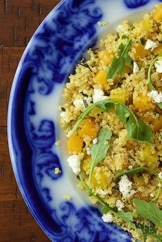 This Golden Beet and Butternut Quinoa Salad is a healthy and delicious way to celebrate the dawning of a new season!
