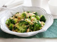 Healthy Broccoli Roman Style - This would be a great way to use up the broccoli that's always on sale and I never know what to do with...