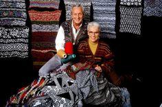 Textile piles - Rosita Jelmini and Ottavio Missoni