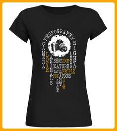 Photography Word Cloud - Fotografen shirts (*Partner-Link)