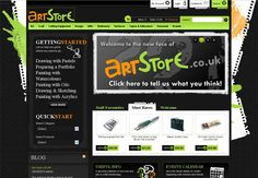 Art Store Website