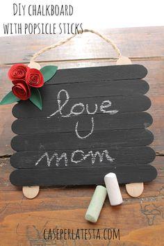 Oggi vi mostro un progetto fai da te semplice e di grande effetto, perfetto da fare con i bambini per la festa della mamma: ...
