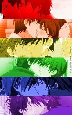 Parejas Junjou Hatsukoi Tsundere, Otaku Anime, Manga Anime, Best Romantic Comedy Anime, Anime Lemon, Kagehina Cute, Love Stage, Shounen Ai, I Love Anime