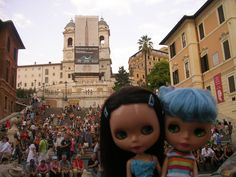 Piazza Spagna - Roma - August 2007 (With Blue Velvet)