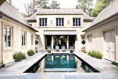 french country pool | stanley dixon, architect