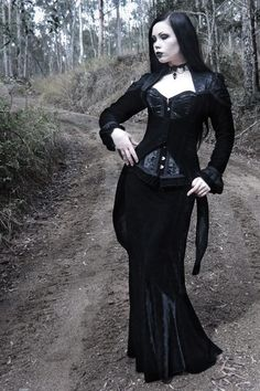 Model: ReeRee Phillips Photo: Alterd Mind Outfit: Burleska Corsets Necklace: Dark in Love Welcome to Gothic and Amazing |www.gothicandamazing.org