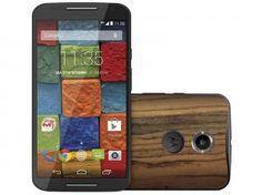"""Smartphone Motorola Moto X 2° Geração Iúna 32GB - 4G Câm. 13MP Tela 5.2"""" Proc. Quad Core Android 5.0"""